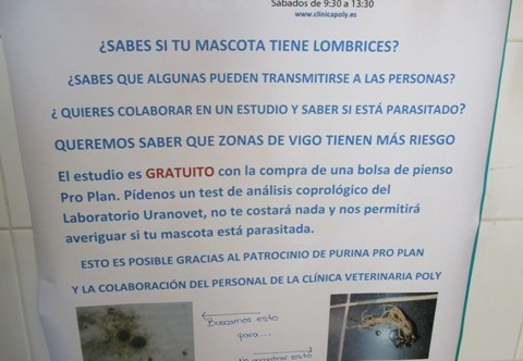 ESTUDIO GRATIS SOBRE PARÁSITOS INTESTINALES